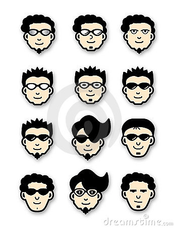 Cool Head Icons