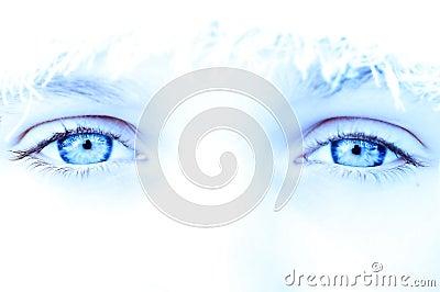 Cool ice eyes