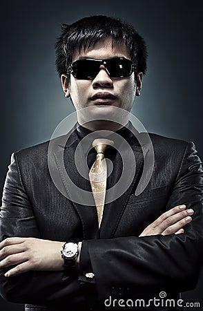 Cool japanese man