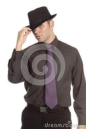 Free Cool Man Royalty Free Stock Photo - 598965