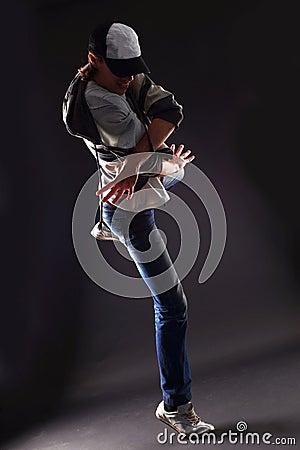 Cool man dancer