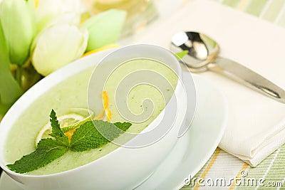 Cool Melon Soup