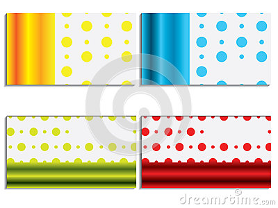 Cool new business card set 6
