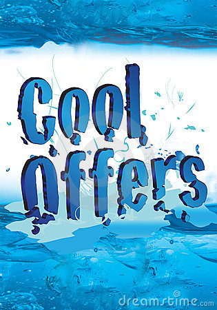 Free Cool Offers For Winter Sale With Icy Effect Royalty Free Stock Image - 7651866