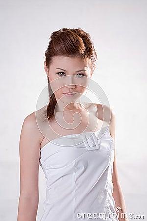 Cool oriental girl