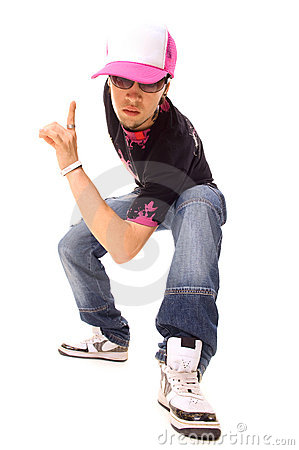 Free Cool Picture Of Hip Hop Guy Royalty Free Stock Photo - 5747175