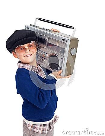 Cool retro kid