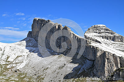 Cool rocky peaks