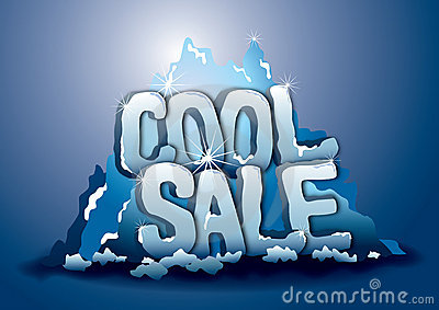 Cool sale on iceberg
