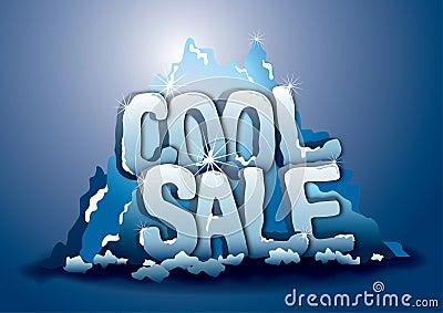 Cool sale on iceberg