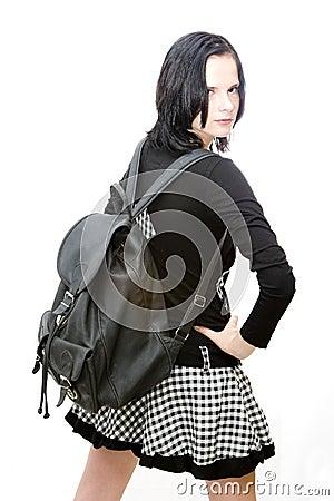 Cool schoolgirl