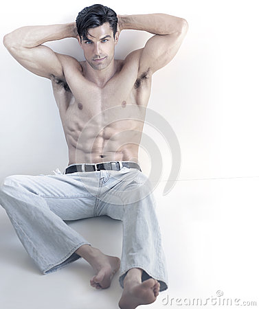 Cool sexy man