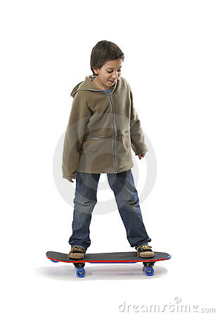 Free Cool Skater Boy Stock Images - 1354334