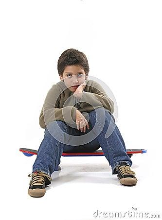 Free Cool Skater Boy Royalty Free Stock Image - 1354336