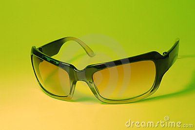 Cool SUnglasses on Green