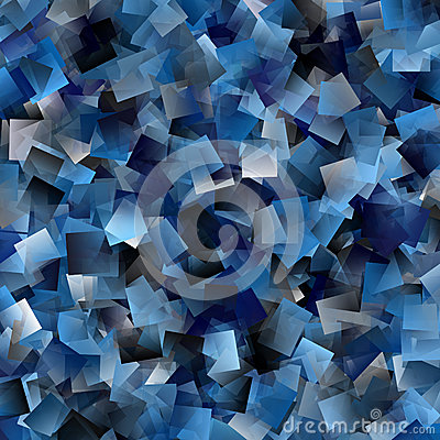 Cool tiled background in blue spectrum