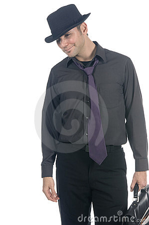 Free Cool Under-cover Agent Royalty Free Stock Photo - 599025