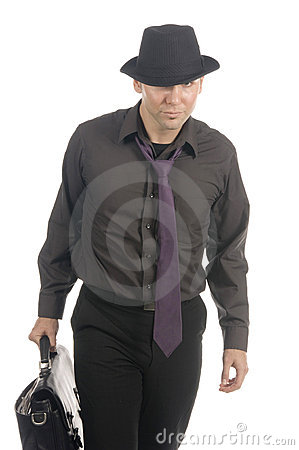 Free Cool Under-cover Agent Stock Photography - 599032