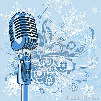 Free Cool Vintage Microphone Stock Images - 3537804