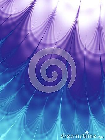 Cool Wave Patterns Blue Purple