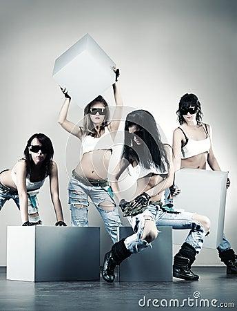 Cool women workers