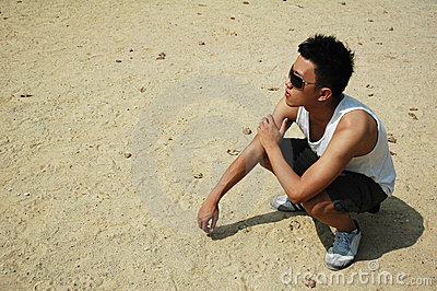 Cool Young Asian Chinese Man