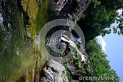 Cooling falls