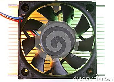 Cooling fand heat sink