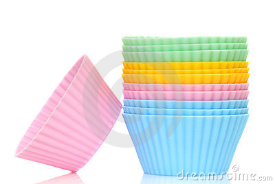 Coorful cupcake liners
