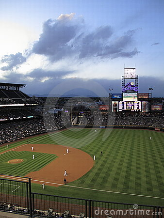 Free Coors Field - Colorado Rockies Stock Photography - 12109222