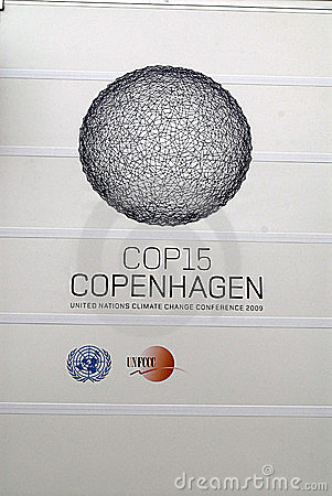 COP15 COPENHAGEN UN CMILMATE CHANGE Editorial Photography