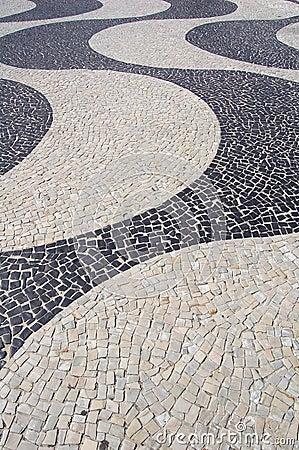 Free Copacabana Sidewalk Royalty Free Stock Images - 748039