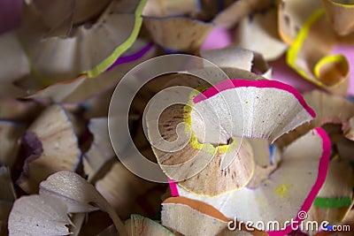 copeaux en bois colors de crayon photo libre de droits image 7380355 - Copeaux De Bois Colors