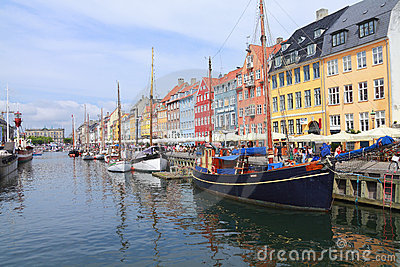 Copenhagen, Denmark Editorial Stock Photo