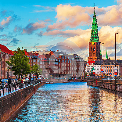 Free Copenhagen, Denmark Royalty Free Stock Images - 45989099
