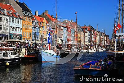 Copenhagen - Nyhavn Editorial Stock Image