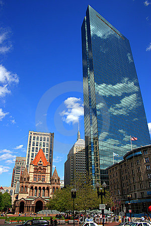 Free Copley Square, Boston Stock Photo - 2161620