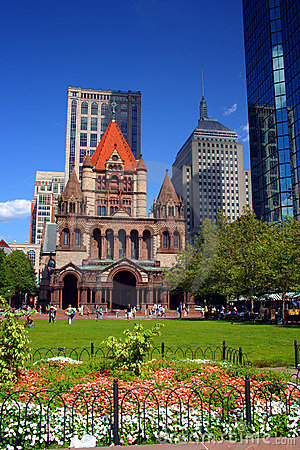 Free Copley Square, Boston Stock Image - 2161671