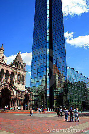 Free Copley Square, Boston Royalty Free Stock Images - 2161799