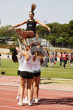 COPO final 2013 de EFAF Foto de Stock Editorial