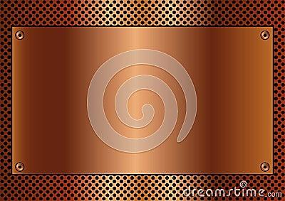 Copper background