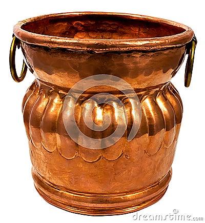 Free Copper Bucket Stock Photo - 20601280
