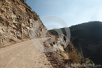 Copper Canyon road