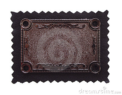 Copper carving background on black fabric
