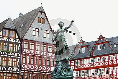 Copper classic statue