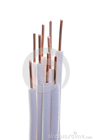 Free Copper Coaxial Cable Royalty Free Stock Photos - 26928898