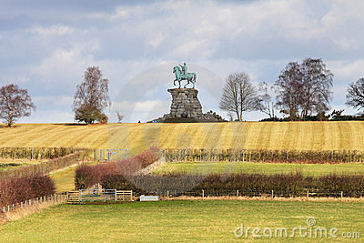 The Copper Horse Statue in Windsor Great Park