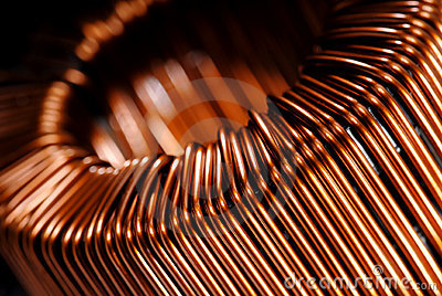 Copper inductor