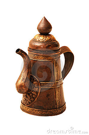 Free Copper Jug Royalty Free Stock Photography - 2818437