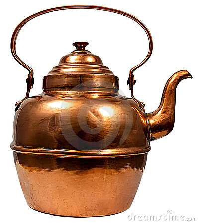 Free Copper Kettle Royalty Free Stock Photos - 20600548